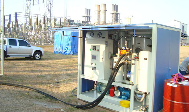 Project in Guatemala Substation