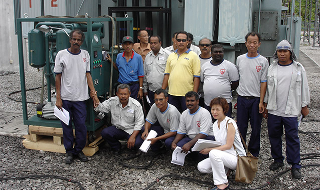 Project in Malaysia Power Plant