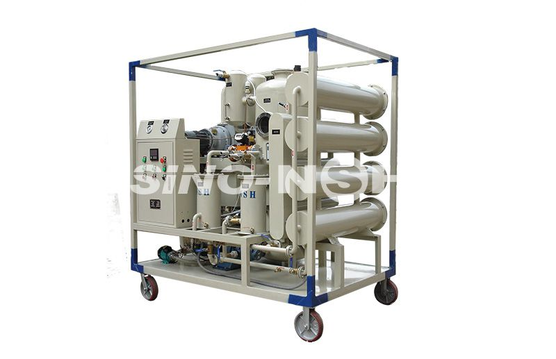 Double-Stage High-Efficiency Vacuum Transformer Oil Purification and Regeneration Plant