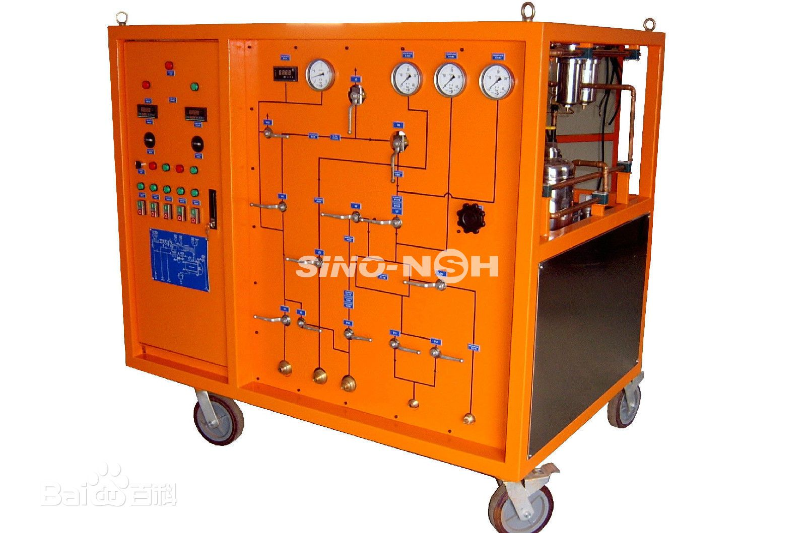 SF6 Gas Recycling & Charging Device  HLC