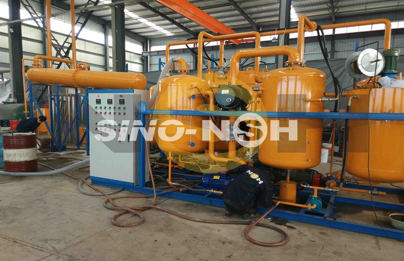 Used Engine Oil Regeneration Systems Model GER