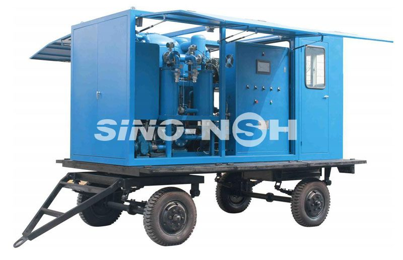 Double-Stage High-Efficiency Vacuum Insulation Oil Purifier  Model VFD