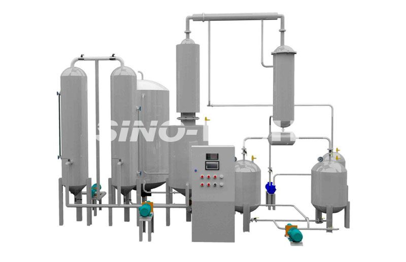 Waste Oil to Diesel Distillation Plant Model GEDD