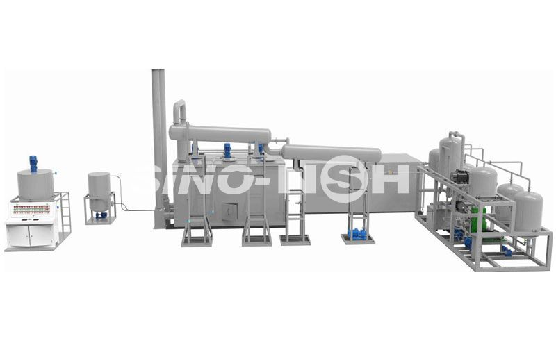 Waste Oil to Base Oil Vacuum Distillation Plant Model GEDB