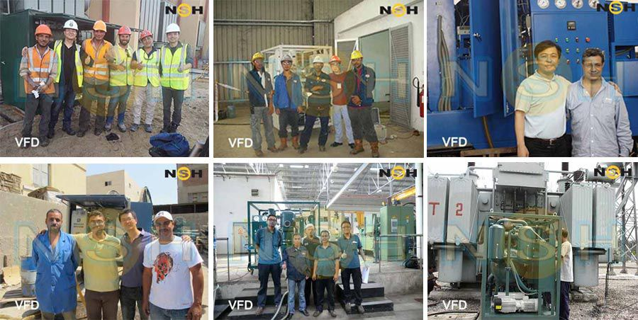 Single-Stage Vacuum Insulation Oil Purifier-VF